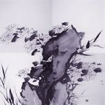 Xu Wei·Flower Series in Ink  No. 1Oil on Canvas 400x400cm 2007
