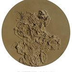 Dust to Dust – Mud No.4 Orchid and StoneΦ170x15cmComprehensive Material2009