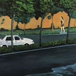 Streetwalker Oil on Canvas  150x200cm  2005