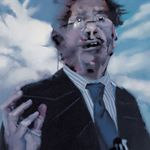Edward Said-2004-80x100cm-oil on canvas