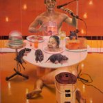 Dining Oil on Canvas 180x160cm 1998