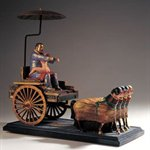 lizhanyang-Carriage colored fiberglass 56x55x29cm 2003