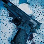 Handgun  Oil on Canvas 180x220cm 2004
