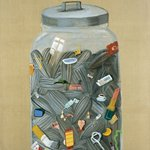 jar 2003 150x190cm oil on canvas