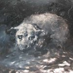 Dog No.1 Oil on Canvas  80x100cm 2004