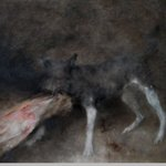 Dog No.4  Oil on Canvas  80x100cm 2004