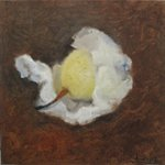 Pear No.2  Oil on Canvas  30x30cm 2003