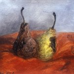 Pear No.7 Oil on Canvas  37x47cm 2001