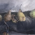 Pear No.9 Oil on Canvas  40x57cm 2001