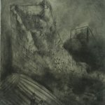 Wu Xiaohai The Great Wall Paper, Charcoal 70x50cm 2007