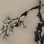 Li Shan Plum Blossom  Oil on Canvas  100x150cm  2005