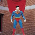 Deng Hua+Fu Zhen  Acupunctured Superman    Installation   210cm(High)