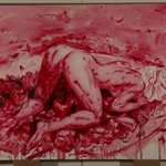 Lian Xueming Feast of Desire No.06-14 Oil on Canvas 200x148cm 2006