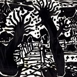 Song Yongping--autumn of Jinci-1982-30x20.5cm-woodcuts